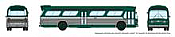Rapido 573004 N - 1/160 New Look Bus - New York (Green)