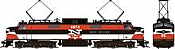 Rapido 84514 HO - EP-5 Electric Loco - DCC & Sound - Penn Central, New Haven #4974