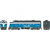 Athearn Genesis G19528 HO Scale - F7A EMD F-Unit Diesel - DCC & Sound - Great Northern#311A