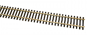 Walthers Track 10001 HO - Code 100 Nickel Silver Flex Track w/ Wood Ties - 36inch pkg(5)