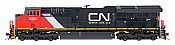 "InterMountain 497102-08 HO Scale GE ET44AC ""Tier 4 GEVO"" EF-64t DCC Installed Canadian National 3034"