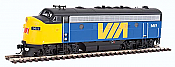 WalthersMainline 19940 HO EMD F7 A - ESU Sound and DCC VIA Rail Canada #1414