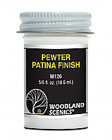 Woodland Scenics 126 Pewter Patina Finish