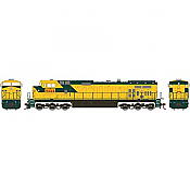Athearn Roundhouse 78026 HO Union Pacific Dash 9-44CW, UP/Ex-C&NW #9668