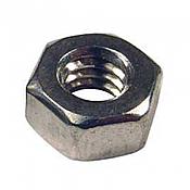 Kadee Quality Products, #1680 Stainless Steel Hex Nuts 1-72