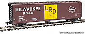 Walthers 2841 HO Mainline 50 Ft PC&F Insulated Boxcar Milwaukee Road #2937
