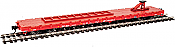 Walthers Mainline HO 5304 - 60 Ft Pullman-Standard Flatcar - Canadian-Pacific (TOFC) #505707