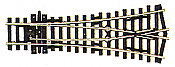 Peco Code 100 SL 97 Streamline Small Radius Wye Turnout, Insulfrog HO Scale Track
