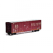 Athearn RTR 87464 - HO 50ft FMC Superior Plug Door Boxcar - Wisconsin Central #21067