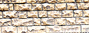Chooch Enterprises Flexible Cut Stone Wall w/Self-Adhesive Backing Small Cut Stones