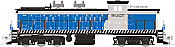 Rapido Trains 70055 N - GMD-1 1000 Series - DC - Cuban National Railway #51213