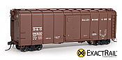 Exactrail Baltimore and Ohio M-53 Wagontop Box Car : 1937 #380239