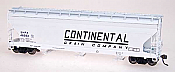Intermountain Railway 47022-08 HO ACF 4650 Cubic Foot 3-Bay Hopper - Continental Grain Company SHPX 46557