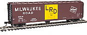 Walthers 2840 HO Mainline 50 Ft PC&F Insulated Boxcar Milwaukee Road #2894