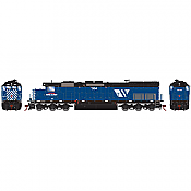 Athearn 86738 RTR HO - SD45T-2 DCC Ready - Montana Rail Link #339