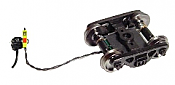 """Ring Engineering EOT-33-LW-G HO Green Enclosure 33"""" Wheels End of Train Device w/Long Wire Length Assembled"""