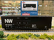 Athearn RND88140 HO Scale - 50Ft High Cube Double Door Plug Box - N&W #605010