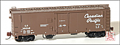Eastern Seaboard Models 226304 N Scale 40 FT Insulated Boxcar - Canadian Pacific - script herald - 35926