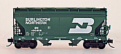 Intermountain 66526-18 - N ACF Centerflow 2-Bay Hoppers - Burlington Northern #435635