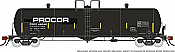 Rapido 135006 HO Scale - Procor GP20 20K Gal Tank Car: PROX Modern w/ Large Logo (6 pack)