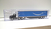 Trucks n Stuff TNS148 - HO Kenworth T680 Day-Cab Tractor - 53ft Dry Van Trailer - Amazon Prime