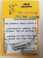 Juneco Scale Models C-54 SW-1200RS Fuel Tank Modifications & Coils for Athearn Underframe