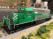 Bowser 25057 - HO GMD SD40-2 - DCC Ready - FURX (Green and Silver) #3050