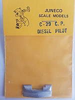 Juneco Scale Models C-29 CP Curved Diesel Pilot