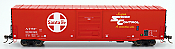 Intermountain 46915-17 HO Scale - 60Ft PS-1 Boxcar - ATSF - Super Shock Control #609039