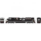 Athearn Genesis G27349 HO Scale - SD80MAC Diesel DCC/Sound - Norfolk Southern #7217