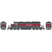 Athearn RTR 72118 HO Scale - SD40-2 - w/DCC & Sound - Ferromex/New Scheme #3139