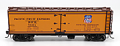 Intermountain 47402-04 HO Scale - R-30-12-18 Wood Refrigerator Car - PFE Stripe #75651