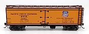 Intermountain 47402-04 HO Scale - R-30-12-18 Wood Refrigerator Car - PFE Stripe #75651