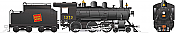 Rapido 603503 HO H-6-d Canadian National Railway #1373 DC/DCC/Sound Pre-Order coming 2020