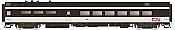 Rapido Trains 124005 HO Scale Pullman-Standard Lightweight Diner-Lounge Canadian National #1339 Pre Order
