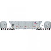 Athearn G89967 - HO Trinity 3-Bay Hopper - Union Pacific/CMO #21275