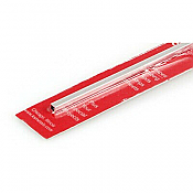 K&S Engineering 83012 All Scale - 5/32 inch OD Square Aluminum Tube - 0.014inch Thick x 12inch Long