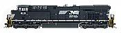InterMountain Railway Diesel GE ES44AC Norfolk Southern #8091 - DCC Installed