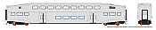 Rapido 146094 HO - Single BiLevel Commuter Car - Undecorated Coach - Series 3 Body