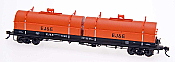 Intermountain Red Caboose HO 32502-38 Evans 100 Ton Coil Car - Elgin Joliet & Eastern #7033