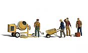Woodland Scenics 1901 HO Masonry & Cement Workers