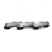 Athearn 16681 RTR HO - 16K Gallon Tank Car - UTLX #1 (3pk)