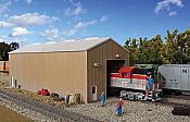 Walthers Cornerstone 2985 - HO Modern Single-Track Engine House - Kit