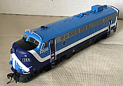 Rapido Trains 222544 - HO GMD FP7 - DCC/Sound - Montreal Commuter Early #1306