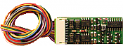 NCE 124 Decoder HO Scale D13SRJ 1.3 Amp 2 amp Peak Decoders 4 Function w/9 Pin Plug