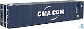Walthers 8569 HO SceneMaster - 45 Ft CIMC Container - Assembled - CMA-CGM