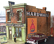 Downtown Deco HO Scale 1049 Patterson's Hardware - Kit