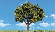Woodland Scenics 3510 - HO Ready-Made Trees - Sun-Kissed (3/pk) 4-5 inch