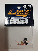 Rapido Trains 102108 - HO GE-style deck-mounted Ditch Lights