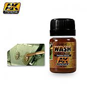 AK Interactive 046 - Light Rust Wash -  Enamel Paint - 35ml Bottle